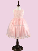 12103 100-140 girls party dresses bowknot latest fashion Flower girl dress