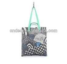 Small Universe Planet Geometric Cool Shoulder Bag Handbag Fashion 2014 Portable Canvas Tote