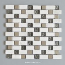 Cheap Stone Mix Broken Glass Mosaic