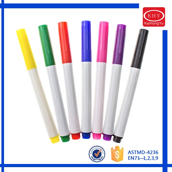 Erasable ink promotional colorful whiteboard marker