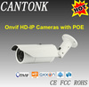 WDR Waterproof Audio onvif auto focus zoom bullet POE 3mp IP Camera outdoor