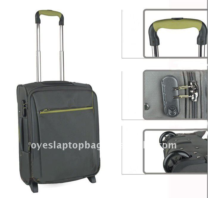 1680D nylon 24inch prince spinner italian luggage