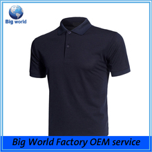 Wholesale 88% polyester 12% elastane Performance fit man golf Polo t shirt