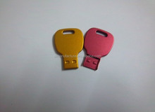 Key-shaped USB Flash Drive Compact and Fashionable Memory Size from 125MB to 64GB