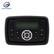 Waterproof Remote Control with LCD Display MP3 Player for RV Caravan Boat Marine