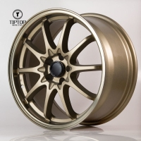 TIPTOP item G102 many Spokes wheels Rodas with 5 8 10 hole fit for vossen replica wheel rim jwl via wheels TOYOTAS