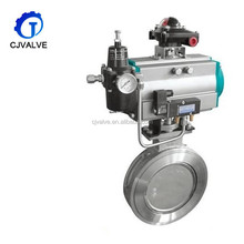 Counter Weight Hydraulic Flange Butterfly Valve