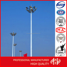 Anti-rust Q345 Galvanized Outdoor Lighting Pole for Football Linghting