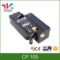 Color toner cartridge compatible Xerox CP105 toner with good sale