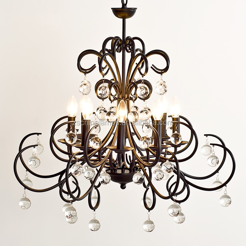 Wholesale New Design Metal Crystal Chandelier Light With
