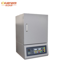 Drop Down Door laboratory electric muffle oven / mosi2 heating elements laboratory digitized pid control muffle furnace