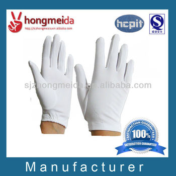 Marching Band Cotton Glove Ceremonial Gloves White Ceremonial Glove