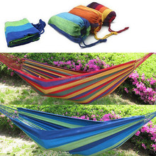 Double Canvas Hammocks portable hammock With Stand For Family/aerial yoga hammock