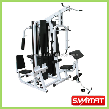 high class quality heavy duty muti-functional 4 Station Home Gym fitness equipment