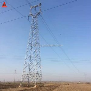 330KV High Voltage Steel tower tower for Power Transmission