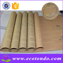 China Supplier Factory Old Newspaper Printing Paper Roll For Gift / Floral Wrap