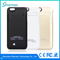 Super slim external 4200mAh phone power bank case for iphone 6