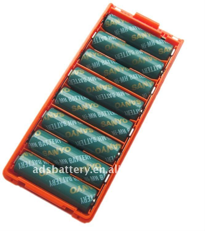 BP194 battery with Alkaline case (Red & Black) for 2 way radio/two way radio Icom IC-A4,IC-T2,IC-F3,IC-F4