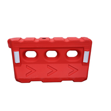 plastic water filled road barrier traffic barrier