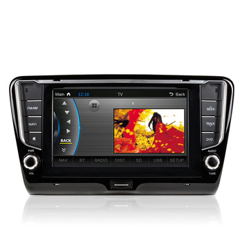 "8"" HD Touch Screen Car In-Dash DVD Player GPS Navigation+Bluetooth+Radio+Multimedia System 2 Din Car PC Stereo Head Unit"