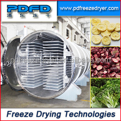 Industrial Food Freeze Dryer with trays/Vacuum Food Freeze Dryer - lyophilizer