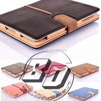 Luxury New Design Suede Leather Smart Flip Buckle Case Cover auto Sleep and auto Wake For Apple iPad 2/3/4 tablet case