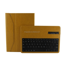 Factory price detachable style 9.7 tablet pc leather case bluetooth keyboard