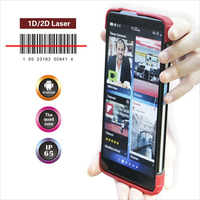 7inch Android industrial tablet pos with 1d barcode scanner, optional for UHF RFID reader, hot rfid tablet