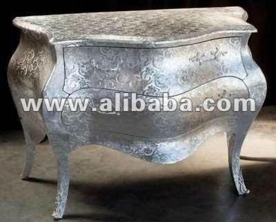 neo inodoro rococ plata moderno muebles barrocos sets
