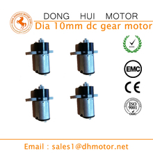 OEM Custom Made High Torque Micro Dia 10mm Plastic Planetary DC Gear Motor for Robot@
