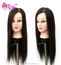 2016 Hot Sale Hairdresser Mannequin Head Hairdressing Practice Training Mannequin Doll Head With 85% Real Human Hair
