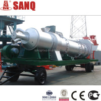 Hot Saleing!!! 25 t/h DHB25 Mobile Asphalt Mixing Plant Portable Asphalt Hot Batch Plant Bitumen Mixing PlantGOST CE&BV