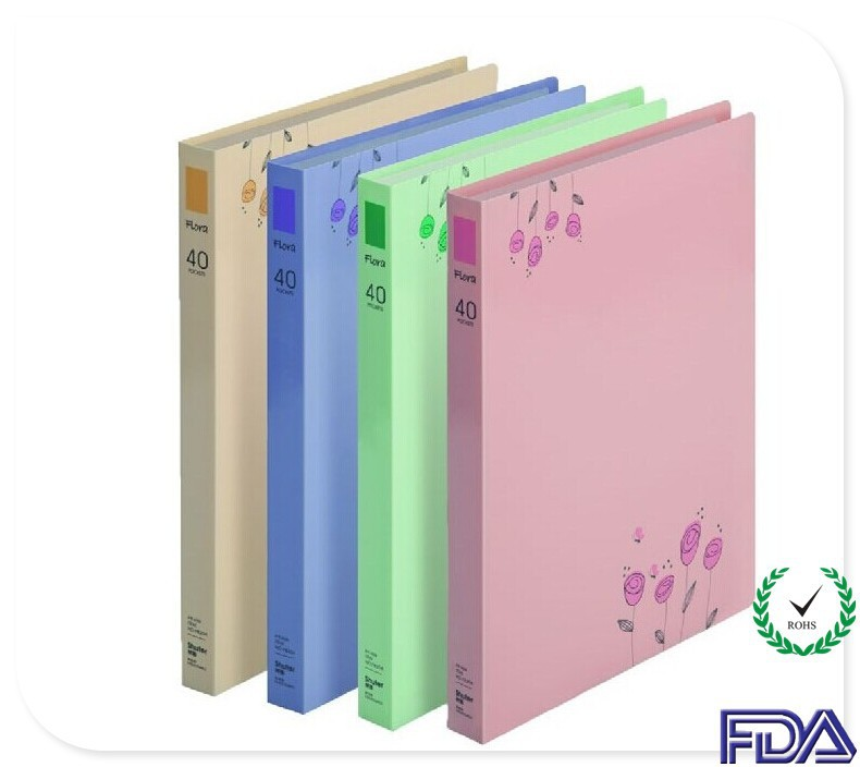 A4A3A5B5 Beautiful Clear Book File book Display Book OEM