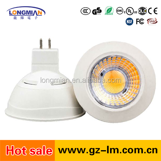 China best seller High CRI Led Spot Light Mr16 24v 7w Low Voltage Led Bulb Light Dimmable Mr16 Led Spot Light