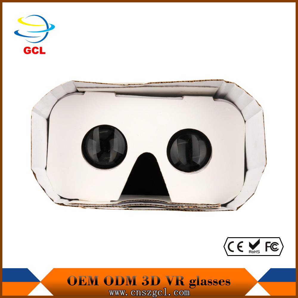 New google generation 3.0 easy use vr glasses cheap 3d cardboard