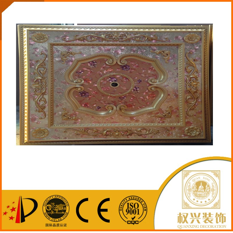 China building materials Middle East style Hotsell roof ceiling design pvc ceiling designs for bedroom