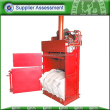 hydraulic used clothes compactor