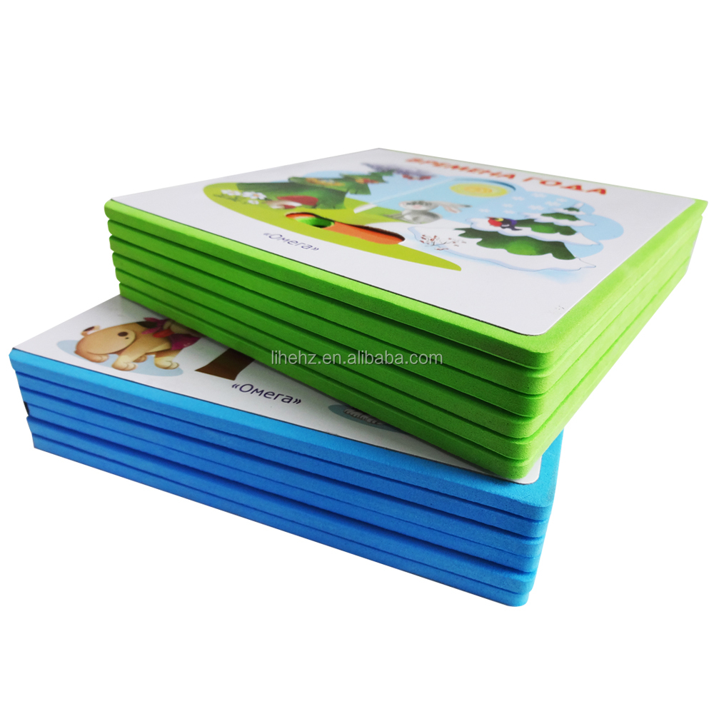 China Factory Stable Quality EVA Foam book / Wholesale Custom for Kids Learning and Best Gift
