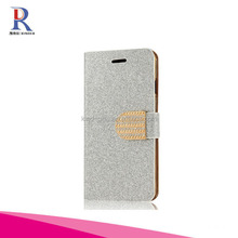 Bling Diamond shimmering powder magnetic Wallet Protective Protector Stand Cover Case