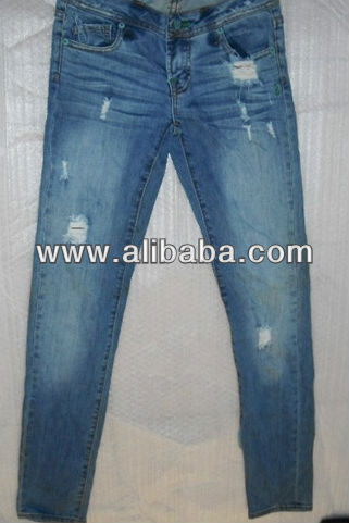 jeans pants stock lot for wholesale