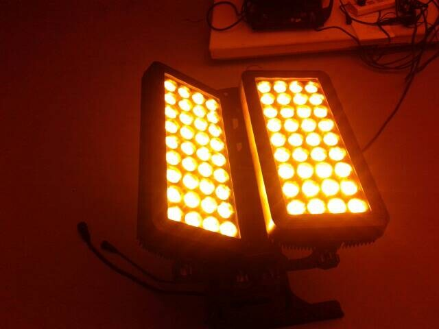 high power super professional led light120*12W 4IN1 LED city color
