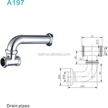 A197 Brass Siphon / Bottle Trap Drain Pipes