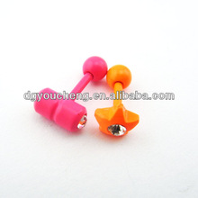Stainless Steel Tragus Body Piercing Jewelry