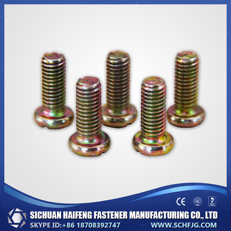 Factory Direct Low Price High Quality Cross Recess Pan Head Screws for Plastics PT screw in Southwest of China