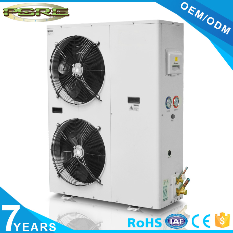 UK condensing unit with scroll compressor