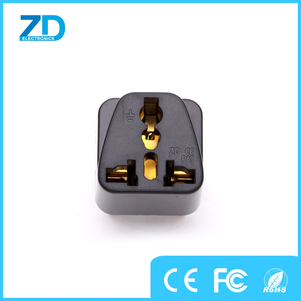 ZD Universal to uk plug adapter for iphone 7