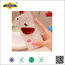 Clear TPU Gel Back Cover Case For iPhone 6 Covered Cute Patterns