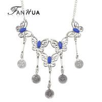 Fashion Jewelry Tibtan Silver Color Choker Necklace