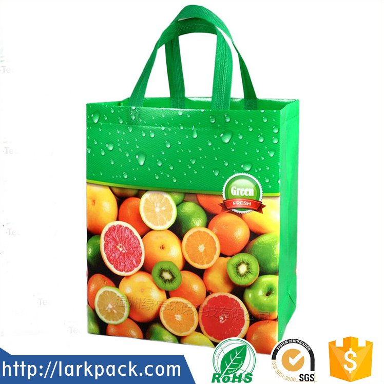 Promotional cheap shopping non woven tote bag with logo printed
