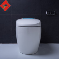 china products portable wc blue color ceramic toilet